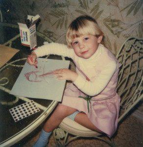 At age 5 I was in Kindergarten. Photo Credit: Kathleen Scott