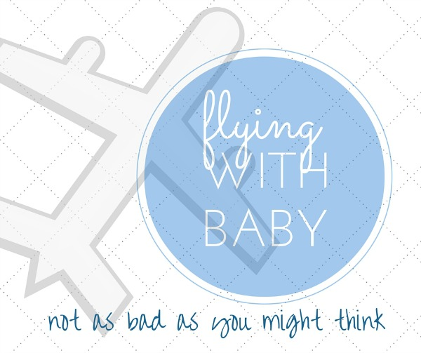 Flying with baby