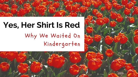 Kindergarten Redshirting