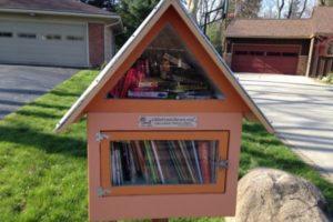 The Little Free Library- Take a book. Return a book.