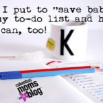 "How I put to ""save babies"" on my to-do list and how you can, too!"
