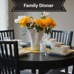 A Family That Dines Together: Builds Relationships and Increases Development