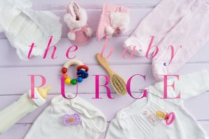 When to get rid of the baby clothes