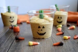 Pumpkin Pudding Cups -