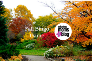 fall bingo game