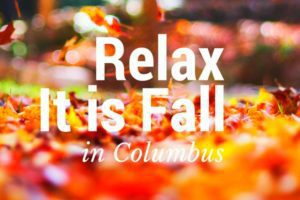 Fall in Columbus
