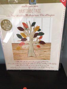 Pick up a gratitude tree and make it a November tradition!