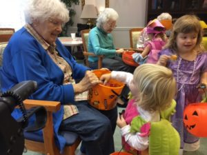 We had so much fun volunteering at a local nursing home and so did the residents!