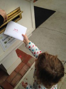 Such a memorable experience to drop off your letter to Santa and wait for his response!