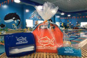 goldfish gift basket