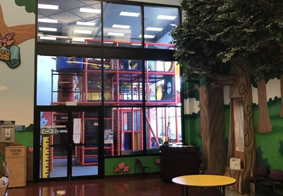 Indoor play-area at the Naz Grove City