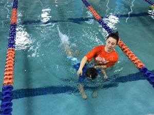 swimming lessons goldfish