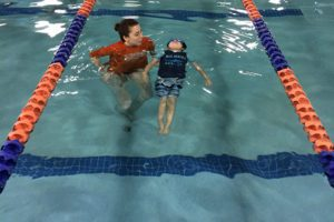 No more 'monkey tree banana' for this guy; we've graduated to full-on backstroke.