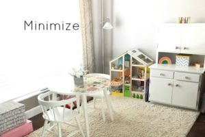 minimize playroom