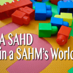 A SAHD in a SAHM's World