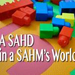 A SAHD in a SAHM's World