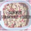 Summer Strawberry Cobbler