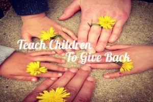 children give back