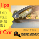 6 Tips for When your Kid is Locked in a Hot Car