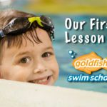 Our First Lesson at Goldfish Swim School