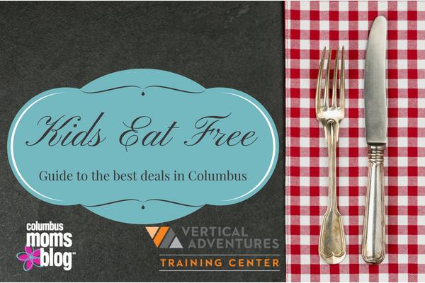 kids eat free meals