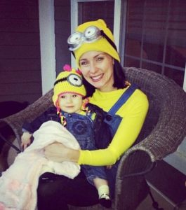 57a78799e6 A yellow shirt, yellow hat and overalls are all items you may already own  or could definitely wear again. You can find a pair of Minion goggles for  under $7 ...