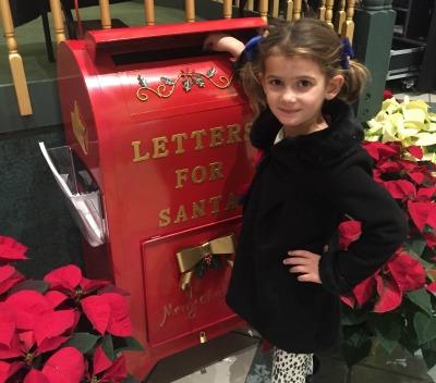 Santa's mailboxes