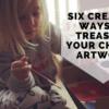 Creative Ways to Treasure Your Child's Artwork