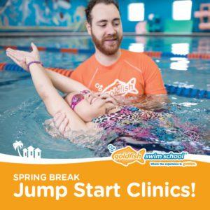 Jump Start Clinic at Goldfish Swim School