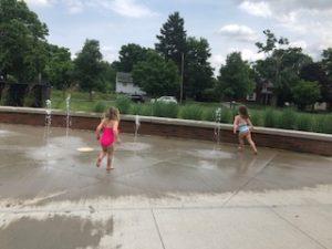 Hanby Park splash pad