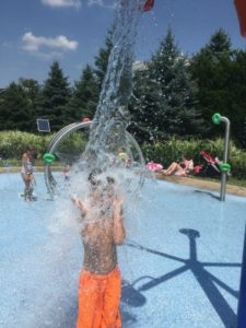 Powell splash pad