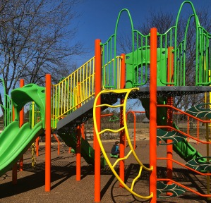 Dublin playground with shade