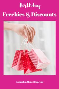 birthday discounts