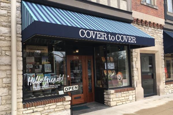Upper Arlington Spotlight Cover to Cover bookstore