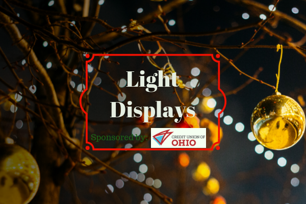 holiday lights Thank you to Credit Union of Ohio for sponsoring this post.  Here's a message from them: Credit Union of Ohio is a full-service  financial ... - Where To See Christmas Light Displays In Columbus, Ohio