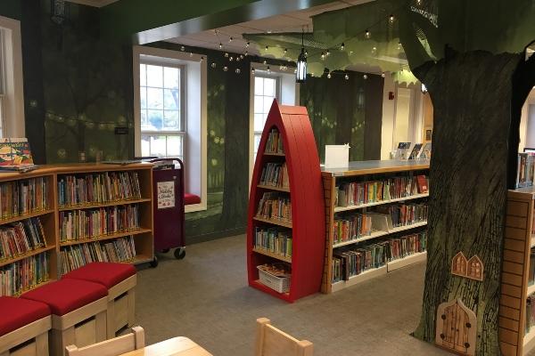 Upper Arlington Spotlight Miller Park Branch Library