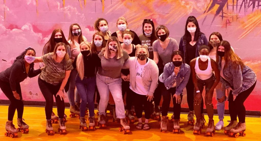 Rollerskating with Northstar Family Dental