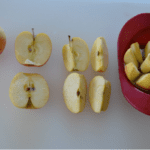 Apple Fractions and Tasty Snack