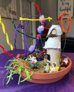 indoor fairy garden creation