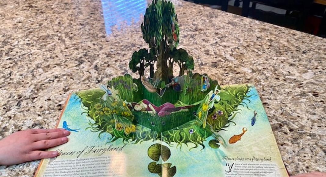 fairy book sparks imagination