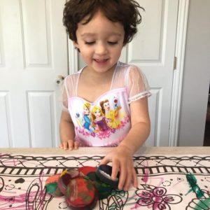 crafts for kids-crayon melting