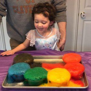 Fizzle rainbow experiment