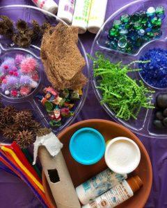 items needed for an indoor fairy garden