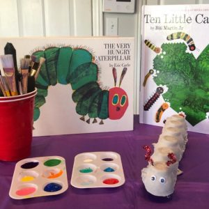 artwork about caterpillars