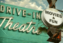 drive-in theatres