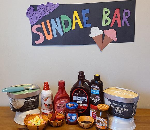 sundae bar