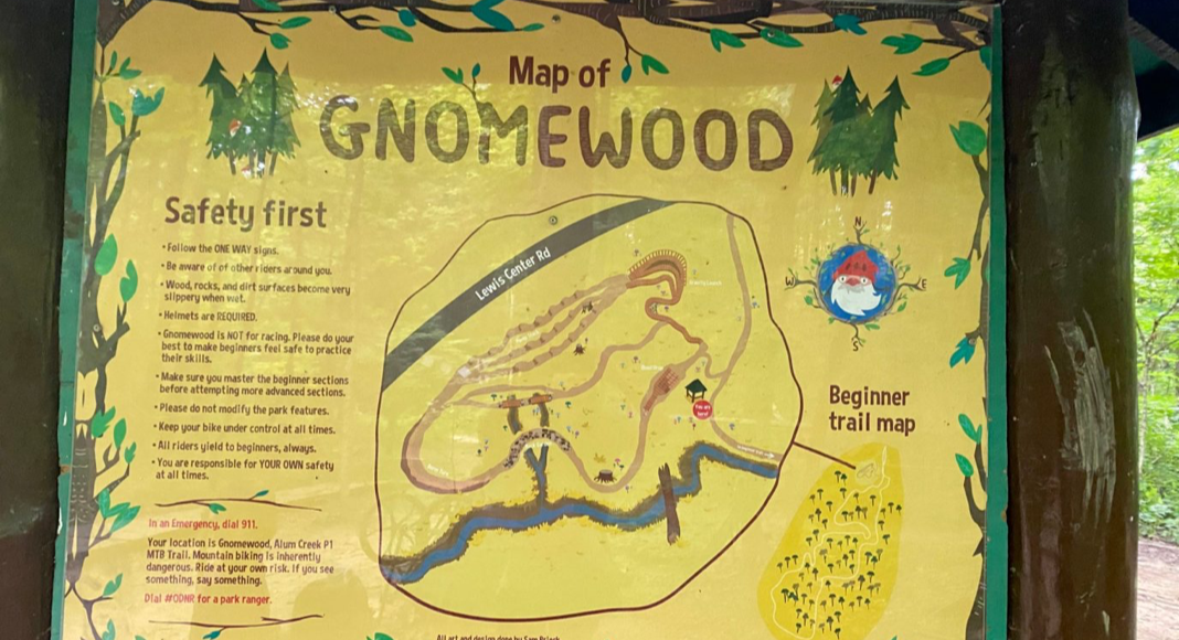 map of Gnonewood in Galena