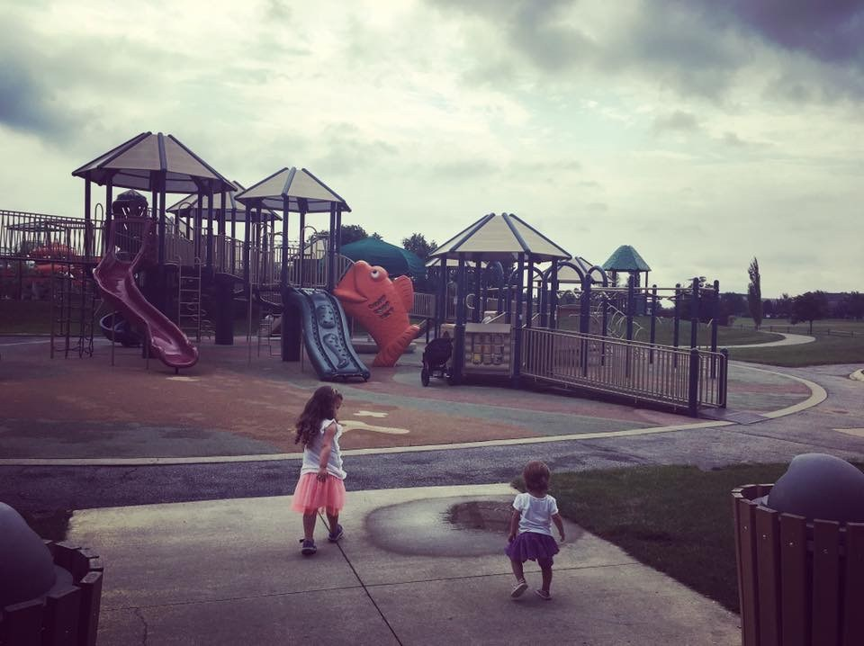 playground in Lewis Center