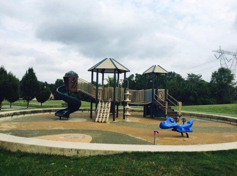 North Orange playground in Lewis Center