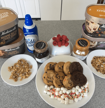cookie sundae bar
